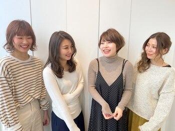 オートル 綱島店(AUTRE by FUGA hair)の写真/実力派女性スタイリストが多数在籍!何でも話しやすいスタッフだから、緊張せずにお過ごしいただけます★