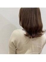 ルーチェ ヘアーデザイン(Luce.hair.design)ミルクティカラー