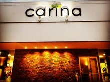 カリナ ヘアサロン(carina hair salon)の雰囲気(レンガ調の外観と、おしゃれで可愛らしい看板が目印♪)