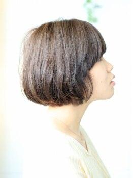 ヘアーディーシーオー(Hair Dco)の写真/【沖縄市】Dcoこだわりのドライカット!髪質やくせを見極め、お客様1人1人にピッタリのスタイルに♪