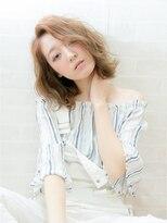 ジュイル シブヤ(JEWIL SHIBUYA)【パーマでもできる♪】切りっぱなしボブ×波ウェーブ Noz中島
