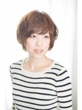 ヘアメイク ワンズカラー 東加古川店(hair make 1's Color)ふわカジュ☆ショートボブ