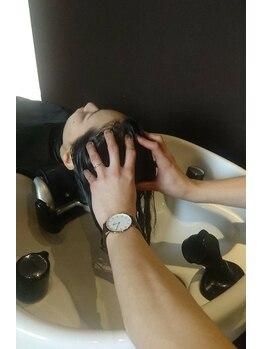 パイレーツ(Pirates Ushiwakamaru Style)の写真/ストレス解消!!大人気のPiratesのヘッドスパ♪心ゆさぶる上質な空間で贅沢な時間をお寛ぎ下さい☆