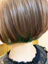 テトラ ヘアー(TETRA hair)ボブ×インナーカラー