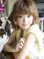 LAUREN秋外国人風ゆるふわ艶ベージュSTYLEtell011-232-8045