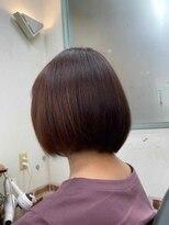 ヘアーカルチャー おゆみ野店(HAIR CULTURE)まとまるボブスタイル