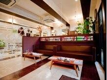 ヘアースペースブルーム ヒーロー 園田店(HAIR SPACE BLOOM hero)の雰囲気(カフェのような居心地の良い空間◎)
