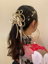 ビューティシモ 川越(Beautissimo)*髪飾りで魅せるヘアアレンジ*