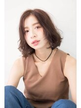 ノリコビューティ メンバーシップエコノミーサロン(NORIKO BEAUTY)ラフウェーブボブ