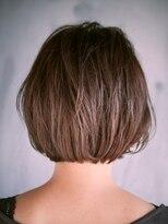 ジュール 銀座 ヘアラウンジ(Joule Hair Lounge)クセ毛っぽい無造作ナチュラルボブ