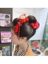 ヘアーメイクミキ 上野本店(hair make MIKI)七五三アップスタイル