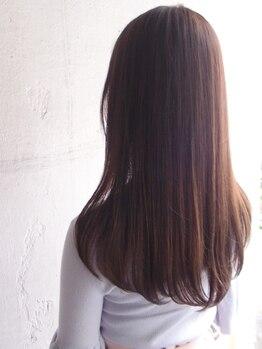 """エーダブリュー(AW)の写真/『業界最上級Tr""""TOKIO""""×圧倒的ダメージレスカラー""""イルミナ""""』あふれる透明感と潤うツヤを あなたの髪へ"""