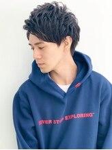 バンプ 表参道(BUMP)『BUMP 表参道』ニュアンスカール♪メンズショート【Misaki】