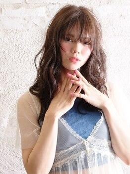 エイミー(aimy)の写真/カラーデザイナー在籍サロン☆ナチュラルから外国人風までお任せ♪周りと差がつくカラーが豊富!