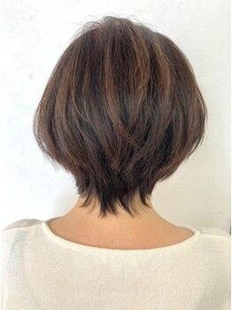 アルベリー ヘアアンドスパ 浜松領家店(ALBELY hair&spa)の写真/【デザインカラー(グレーカラー含む)全体 ¥11000→¥6600】ワンランク上の上質カラーでオシャレを楽しむ◇