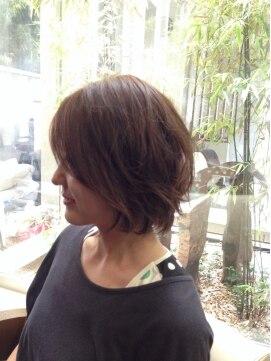 ガーデン ヘアー ワーク(garden hair work)初夏の動き付きボブ☆