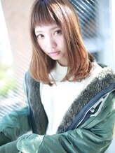 アグ ヘアー ローラン 一宮店(Agu hair roland)☆カジュアルバング☆人気セミィヘア☆