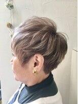 ヘアーアンドメイク ポッシュ 新宿店(HAIR&MAKE POSH)立体感ショートスタイル