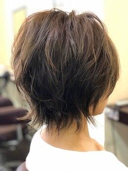 ヘアーフレッシュラブ(Hair Fresh Love)の写真/手ぐしでキマる優秀スタイルをご提案◎【カット ¥3960→新規¥3410】3D×ハイセンスなカット技術を体感◎