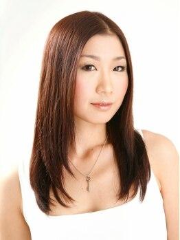 ヘアーメイク エスト(Hair make est)の写真/あてればあてる程、美髪に導いてくれるestの縮毛矯正★手触り・乾燥具合・枝毛…理想の髪質に変わります!