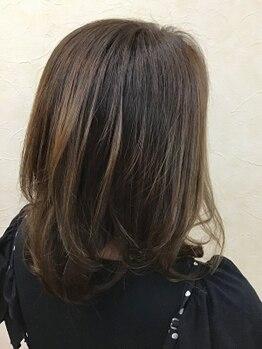 ヘアープレイス スパロウ(Hair place Sparrow)の写真/大人女性の綺麗をサポート。艶のあるキレイな髪で若々しい印象に。毎日のオシャレがもっと楽しくなる♪