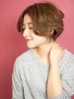 ベックヘアサロン 広尾店(BEKKU hair salon)ルーズなカールで洗練された大人ショートボブ☆