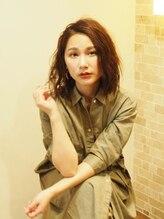 """ヘアーメイク プティ(hair make Petite)おとなかわいい無造作カール""""武蔵小山・プティ"""""""