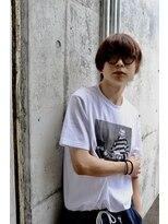 メンズヘアースパイス ユメサキ(Men's Hair SPICE -yumesaki-)ショートマッシュウルフ