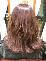 シエル 栄店(CIEL)透明感のあるピンクカラースタイル