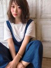 ミニム ヘアー(minim hair)【minim×日比】フォギーカラーでゆるふわな抜け感☆