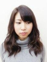 アオタニ ヘア 東向日店(aotani hair)重ためロング×スモーキーベージュ