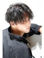 リップスヘアー 銀座(LIPPS hair)ラフ無造作ミディ
