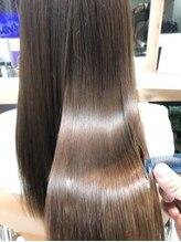 ヘアアンドライフ エジェリデイズ(hair&life egerie days)酸熱トリートメント×oggi otto
