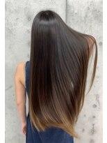 ジーナハーバー(JEANA HARBOR)髪質改善ナチュラルストレート、綺麗なロングヘアに