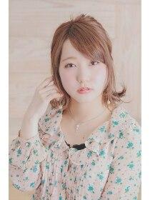 ヘアメイク リロウ(hair make relow by Nine9)ミディアムアレンジ