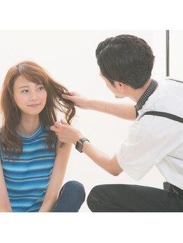 """モヅ美容室 チェルム 四日市店(MOZ美容室 cheRm)の写真/日本有数のカットコンクールでの実績あり◎圧倒的な技術と絶妙なセンスで、""""あなたの""""理想を叶えます☆"""