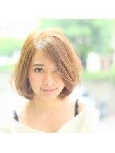リノヘア 長野岡谷店(RINO Hair)レイヤーボブ