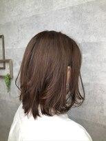 グランジュテ ヘアアンドスパ 新検見川(GRAND JETE Hair&Spa)無造作ミディアムボブ♪ [岩井麻由美]
