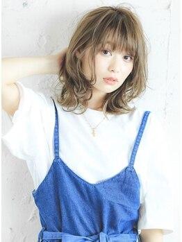 フィーネ(Fi-Ne)の写真/ハイライトカラ-や3Dカラ-が断然人気!!施術前より美しい髪【カラ-+3Dカラ-+シルクトリートメント¥12100】