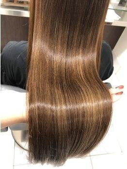 ティーケーザサロン(TK THE SALON)の写真/髪質改善トリートメント『サブリミック』で髪本来の艶を!芯まで補修×触りたくなる柔らかい質感に◎