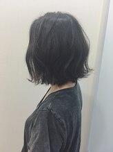 ハブ ヘアー(HUB hair)ラフな外ハネボブ