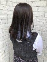 【BRooCH】インナーカラー×ブルーバイオレット