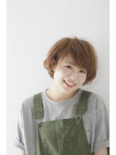 アドラーブル 松崎店(adorable)ラフかわショートボブ♪