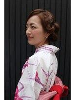 ニコ ヘアーアンドメイク(nico hair&make)nico 浴衣アレンジ♪