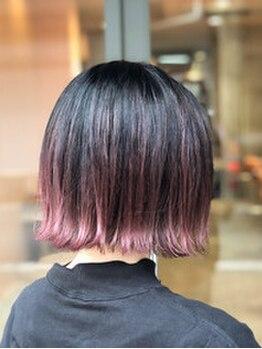 ヘアメイクミワ(HAIR+MAKE MIWA)の写真/【ハイライト特化サロン】ハイセンスなstylistが創る、立体感×透明感×艶感に大満足すること間違いなし♪