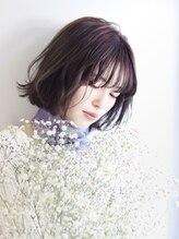 ヘアリゾート ブーケ(hair+resort bouquet)☆コンテスト入賞☆くせ毛風パーマのニュアンスボブ