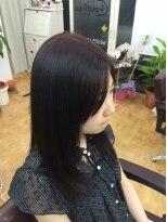 ヘアサロン シュシュ(Hair salon Chou chou)ストレート