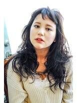 リーズ(Lise)【ゆるふわウェーブロング】/【イルミナカラー】【ブリーチ】