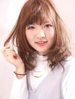 ヘアメイクエシェル 野々市店(Hair Make e‐shell)無造作 抜け感ロブ☆
