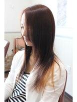 ヘアーサロン リンカ(Hair Salon Rinka)トップと毛先で分かれたインナーカラー☆彡